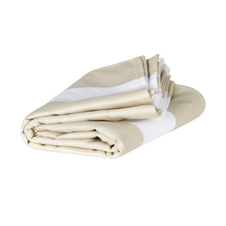SAND FREE, QUICK DRY BEACH TOWEL | CABANA BEIGE