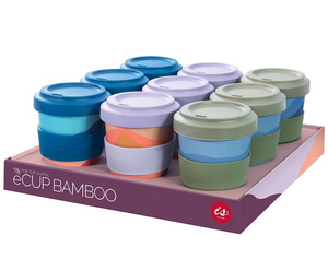 BAMBOO TAKEAWAY CUP | 3 Abstract Varieties