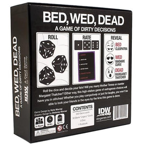 BED, WED, DEAD | Game