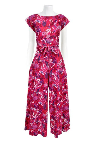 BIANCA BACK TO FRONT 'ENCHANTED BERRY' | JUMPSUIT