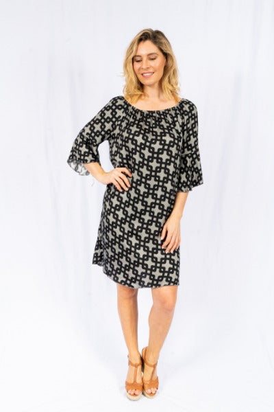 CLAREMONT 3/4 SLEEVE | DRESS