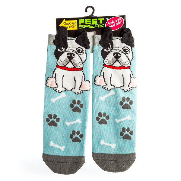 FRENCH BULLDOG 'RUFF DAY' | SOCKS