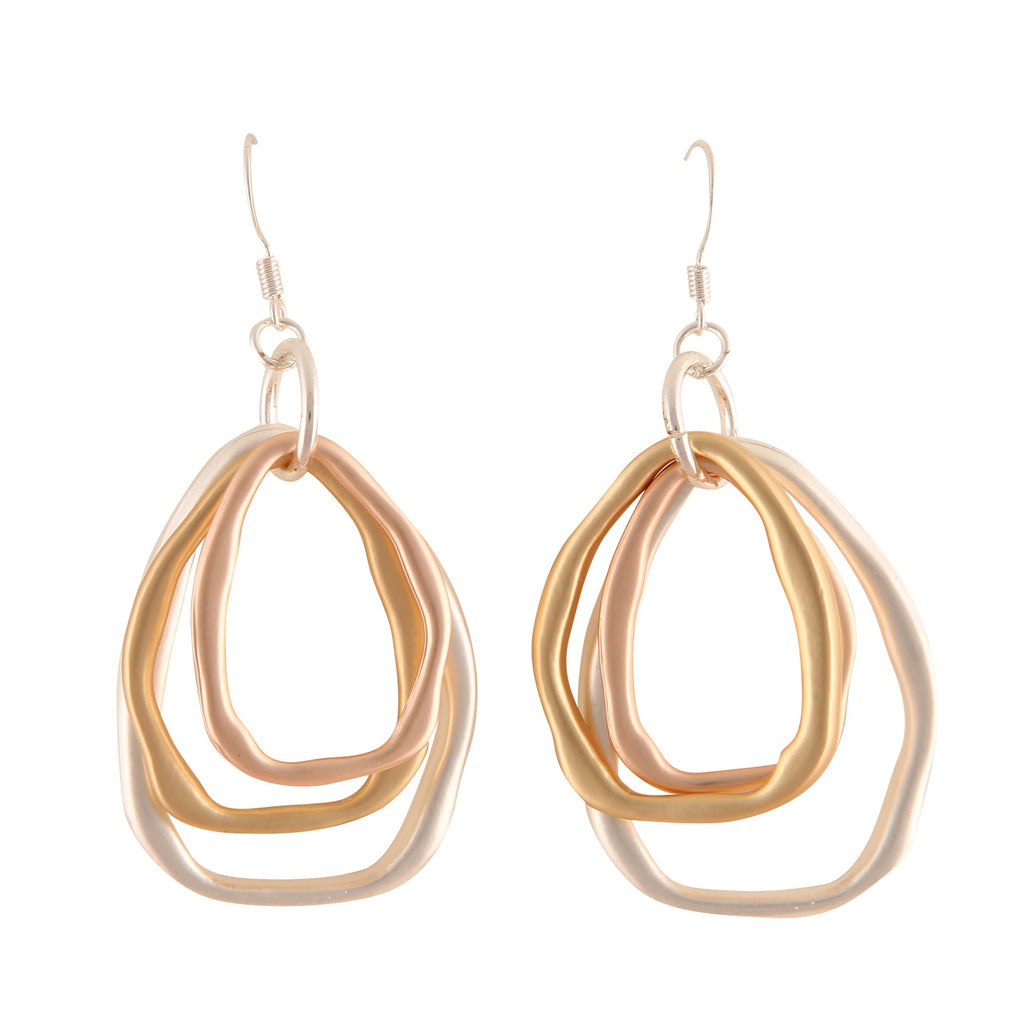DELPHI METALIC | EARRINGS