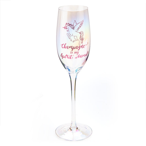CHAMPAGNE IS MY SPIRIT ANIMAL |  Champagne Flute