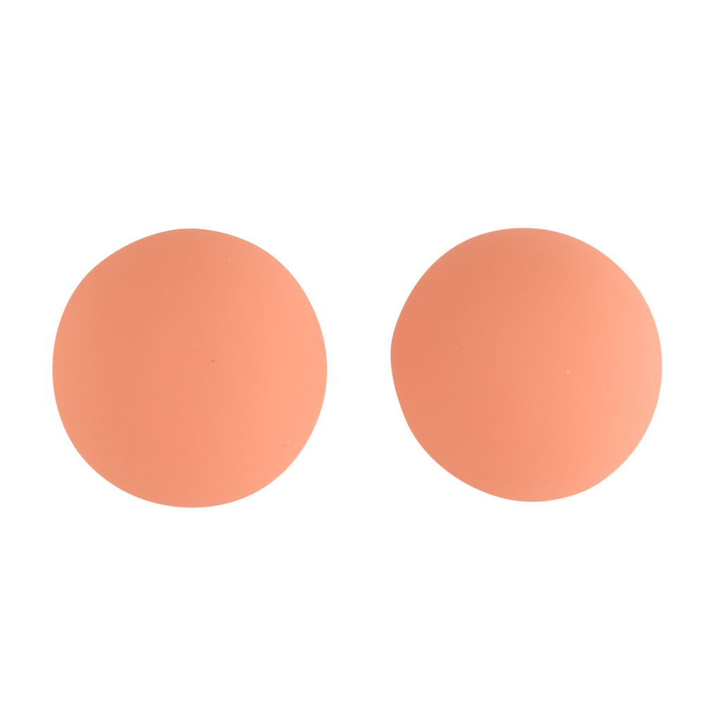 BUTTON PINK | EARRINGS
