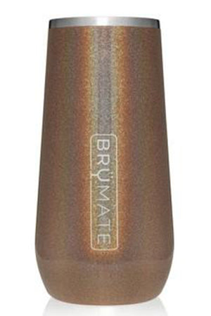 CHAMPAGNE FLUTE by BruMate | Glitter Gold