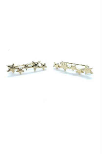 GOLD STARS | Earrings