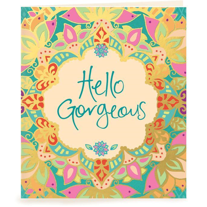 HELLO GORGEOUS | Gift Tag