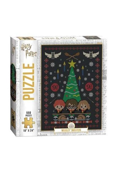 HARRY POTTER WEASLEY SWEATERS 500 PIECE | Puzzle