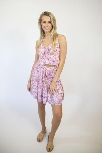 HAYLEY LILAC | Skirt