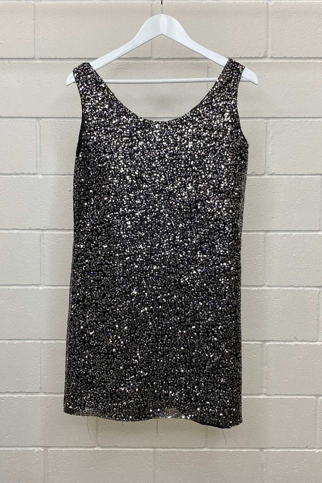 VINTAGE SEQUIN PARTY MINI SIZE M | DRESS (Preloved)