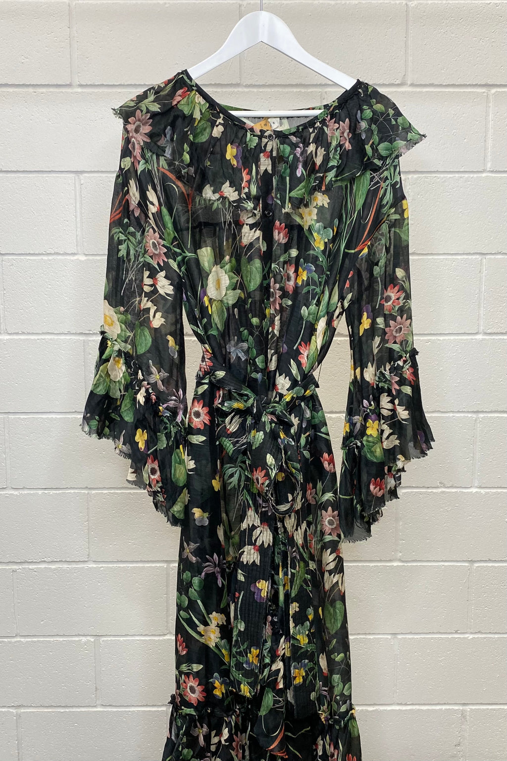 MA DAINTY FLORAL MAXI SIZE S | Dress (Preloved)