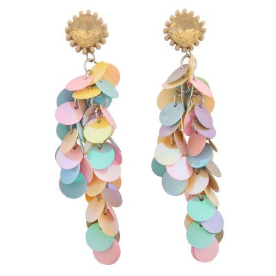 KENZO PASTEL DISC DROP | EARRINGS