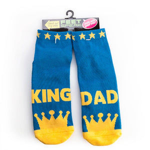 KING DAD 'OFF DUTY' | SOCKS
