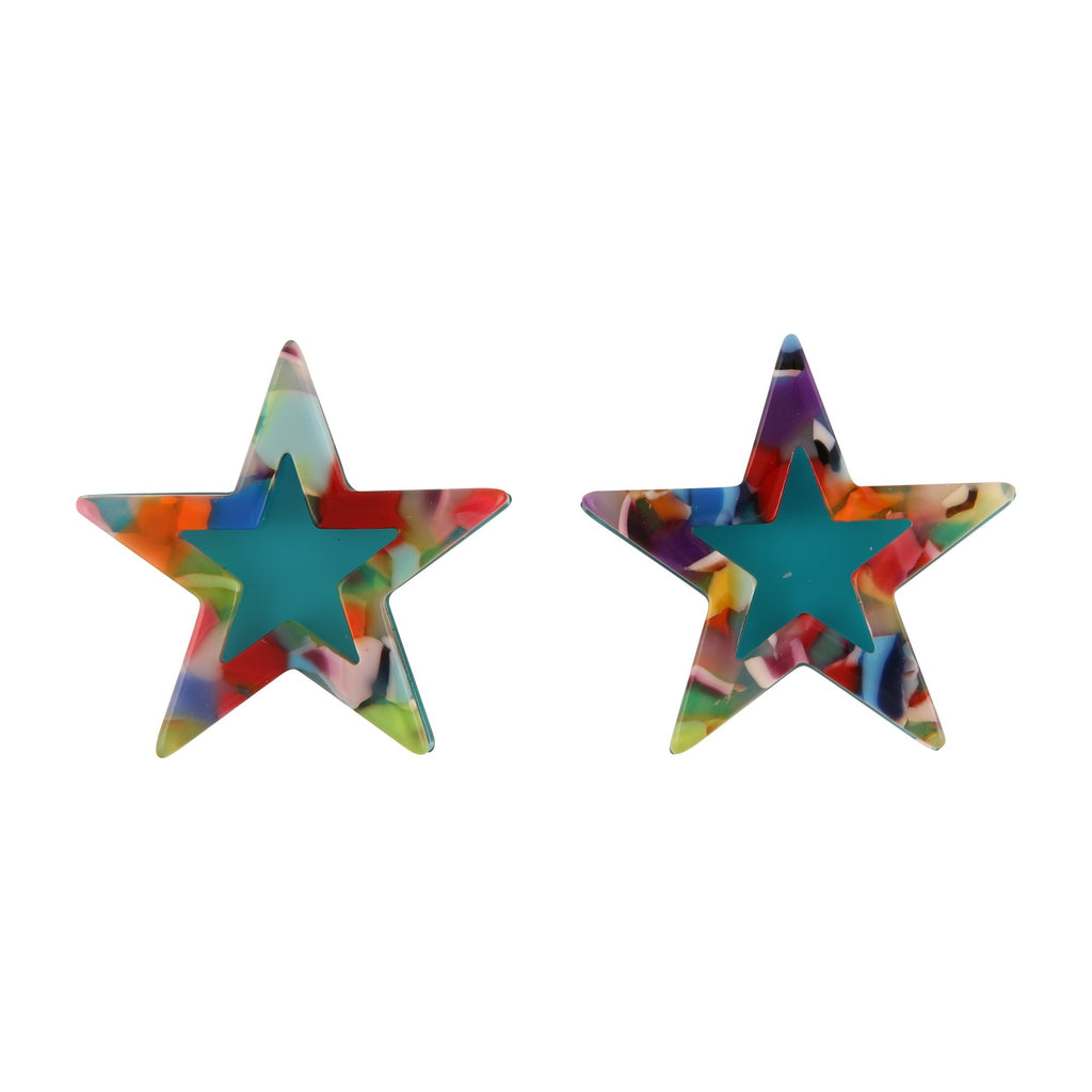 STAR BLUE | EARRINGS