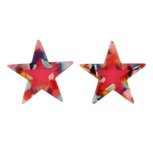 STAR PINK | EARRINGS