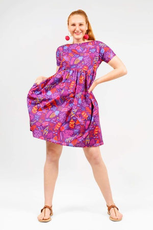 MILA 'JELLY REEF PURPLE' | DRESS