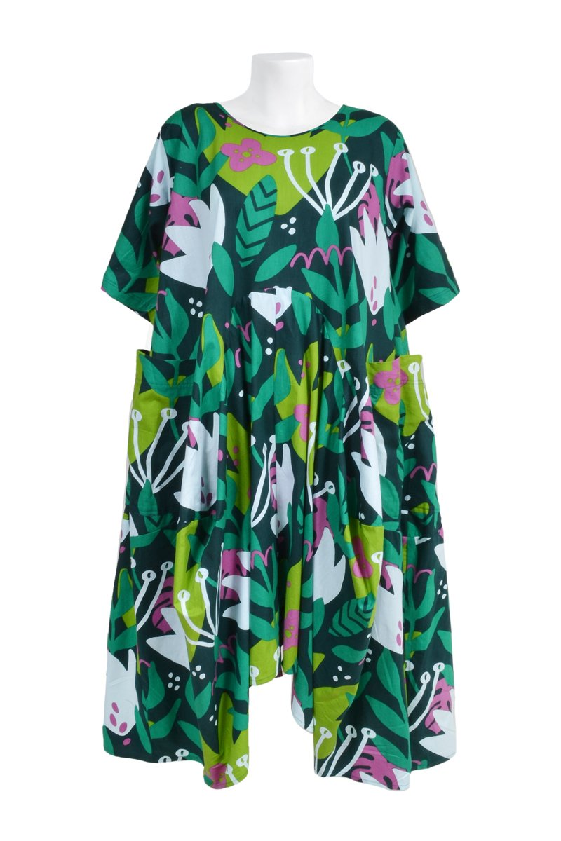 THE MAGNOLIA 'TULIP EMERALD' | DRESS