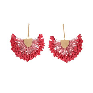 NOA BERRY TASSEL | EARRINGS