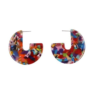 OCEANE 'J' HOOP | EARRINGS