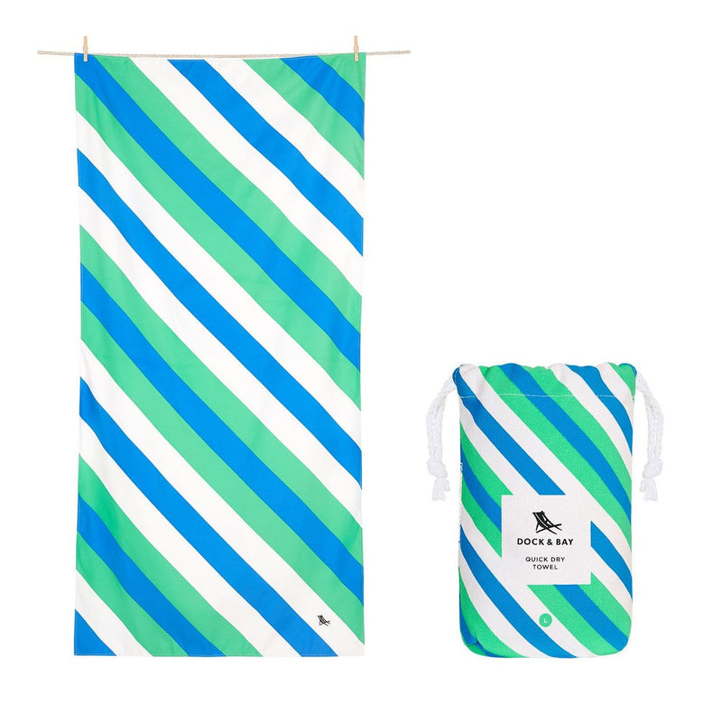 XL SAND FREE, QUICK DRY BEACH TOWEL | PACIFIC TIDE