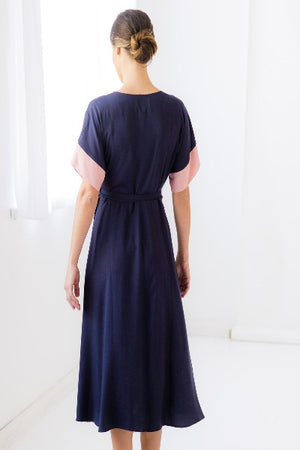 PRISCILLA DRESS IN ECLIPLSE | SUSTAINABLE VISCOSE