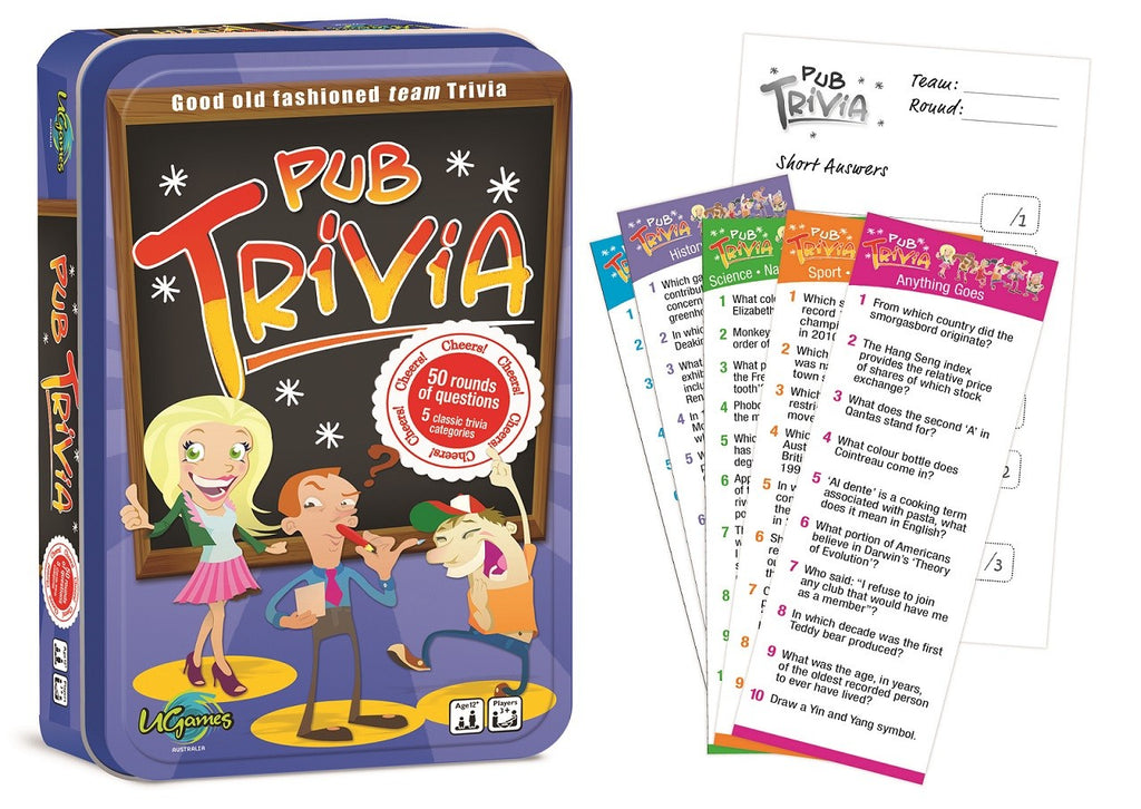 PUB TRIVIA TINNED | Game