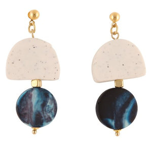 RAVI BLUE DROP | EARRINGS