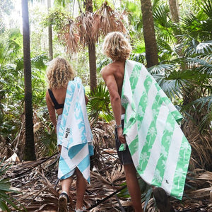 SAND FREE, QUICK DRY BEACH TOWEL | DOING OUT BIT - TREES