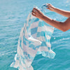 SAND FREE, QUICK DRY BEACH TOWEL | DOING OUT BIT - WHALES