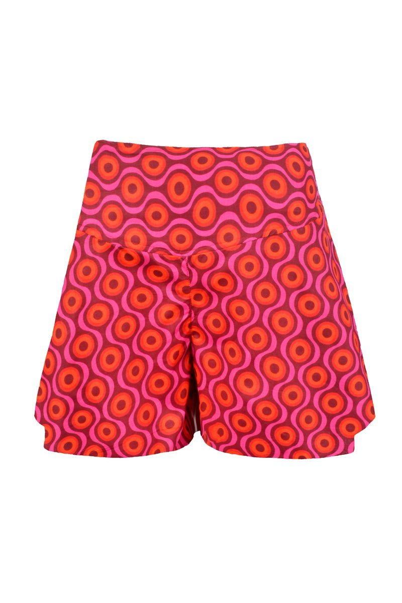 SASHA CULOTTE 'SEED RED' | SHORTS