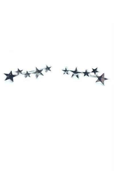 SILVER STARS | Earrings