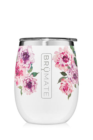 UNCORK'D WINE GLASS by BruMate | Peony (Special Edition)
