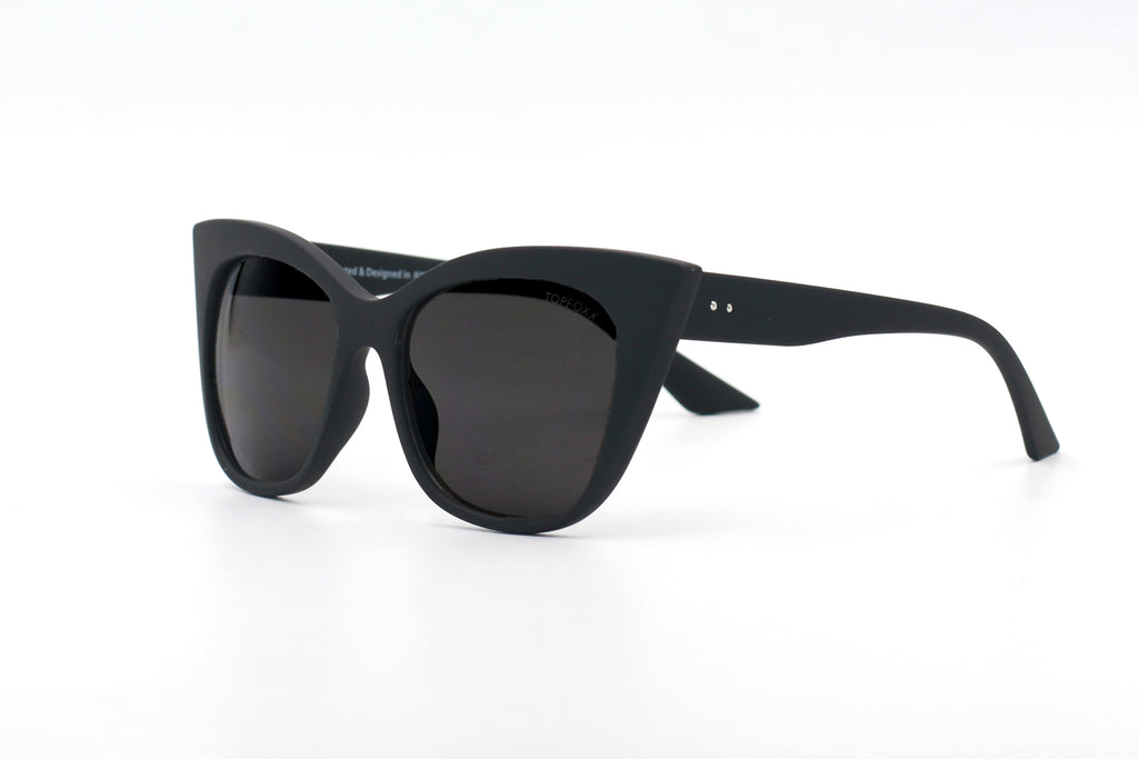 VENICE CATEYE BLACK | SUNGLASSES