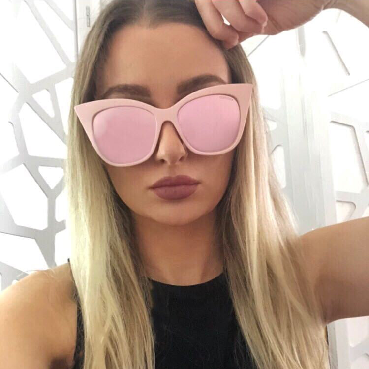 VENICE CATEYE PINK/ROSE GOLD | SUNGLASSES