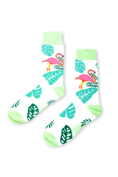 FLAMINGO WHITE | SOCKS