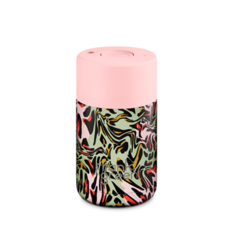 CERAMIC REUSABLE CUP 10oz | Blushing Rainforest