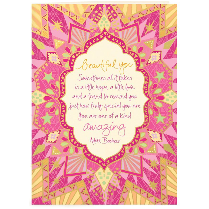 BEAUTIFUL YOU | Card