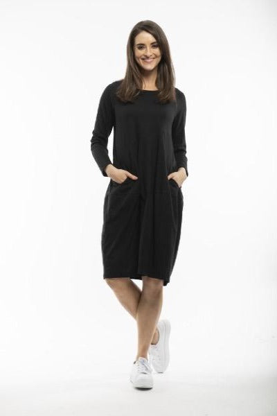BUBBLE BLACK | DRESS