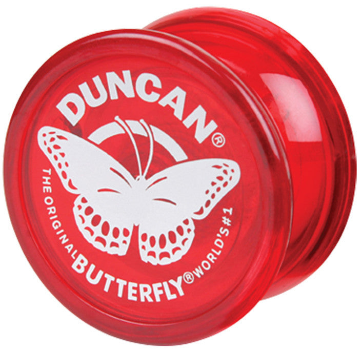 DUNCAN YO-YO BUTTERFLY BEGINNER (ASSTD COLOURS)  | YOYO