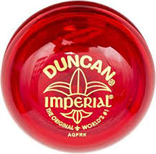 DUNCAN YO-YO BUTTERFLY BEGINNER IMPERIAL 'ASSTD COLOURS'  | YOYO