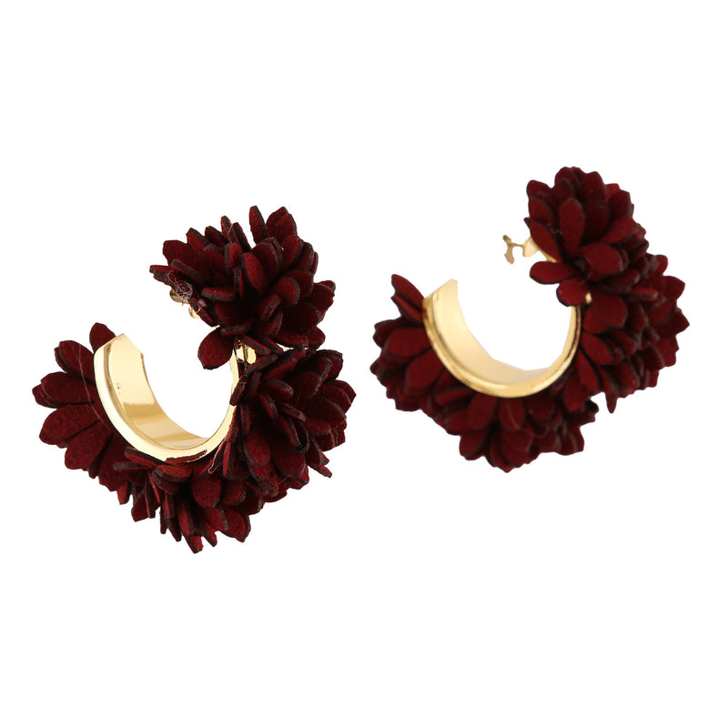 FLURRY RED | EARRINGS