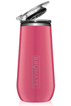 CHAMPAGNE FLUTE by BruMate | Fuchsia