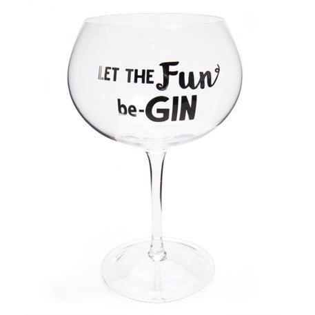 LET THE FUN BE-GIN | Glass