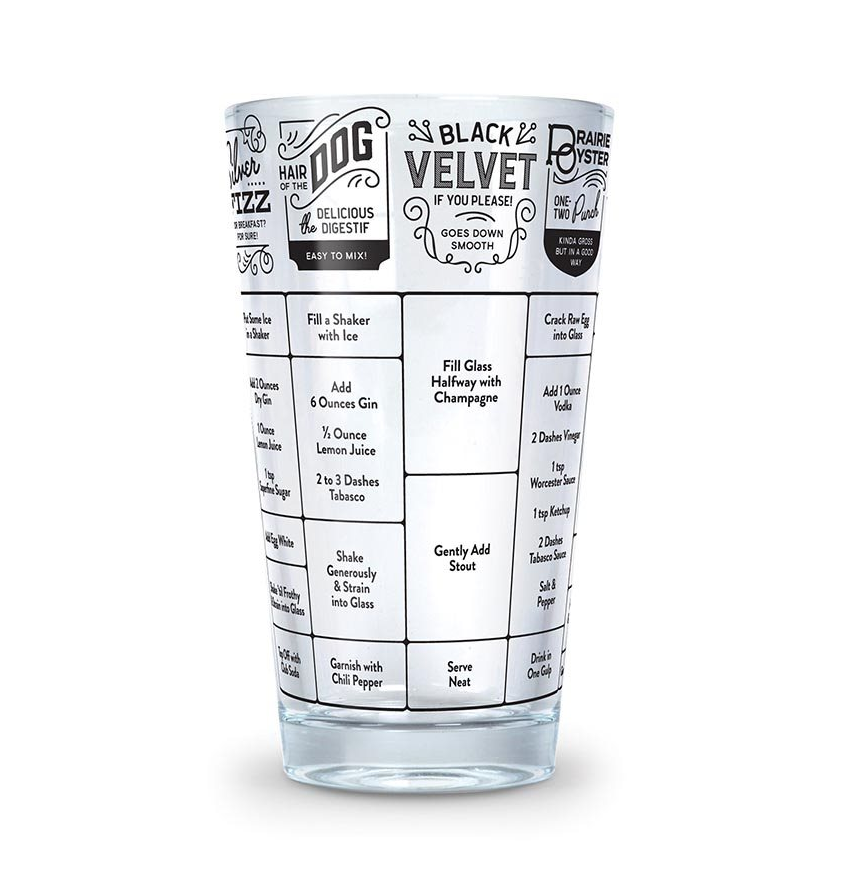 GOOD MEASURE HANGOVER GLASS
