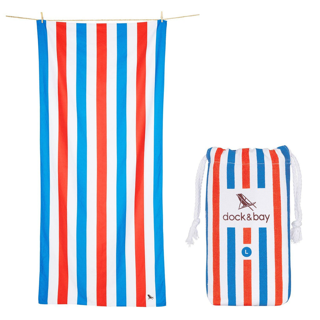 XL SAND FREE, QUICK DRY BEACH TOWEL | POOLSIDE PARTIES