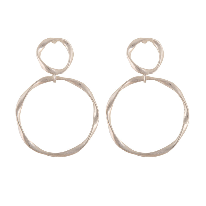 OCTAVIA SILVER  | EARRINGS