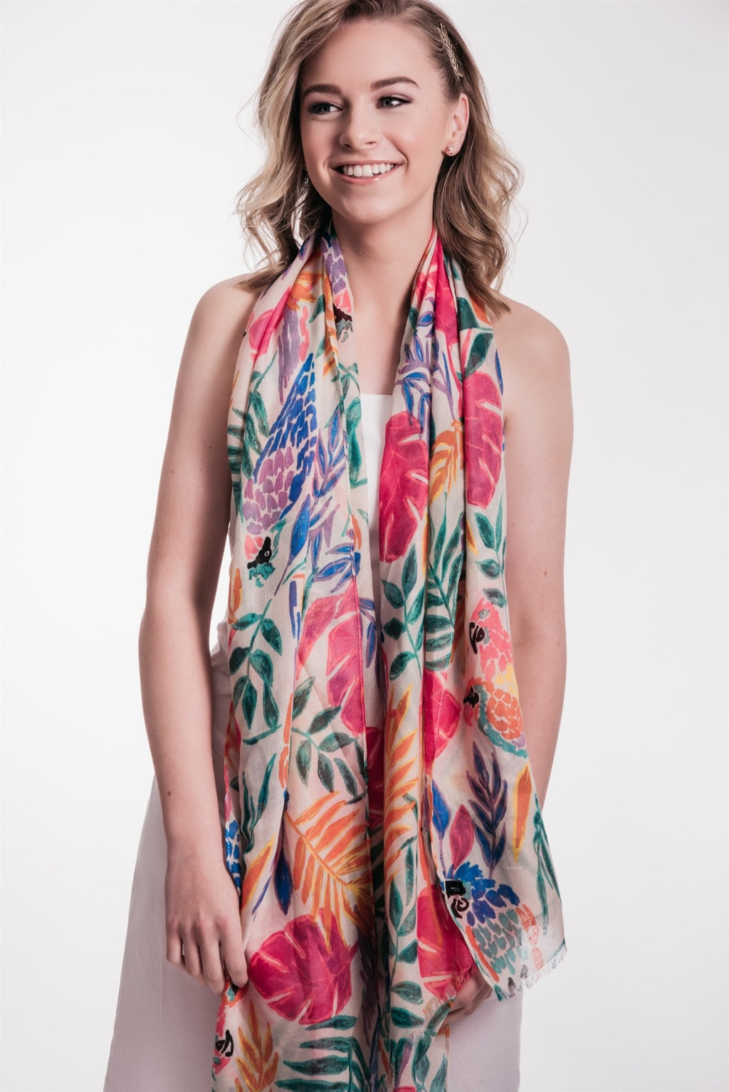 TROPICAL PARROT | SCARF