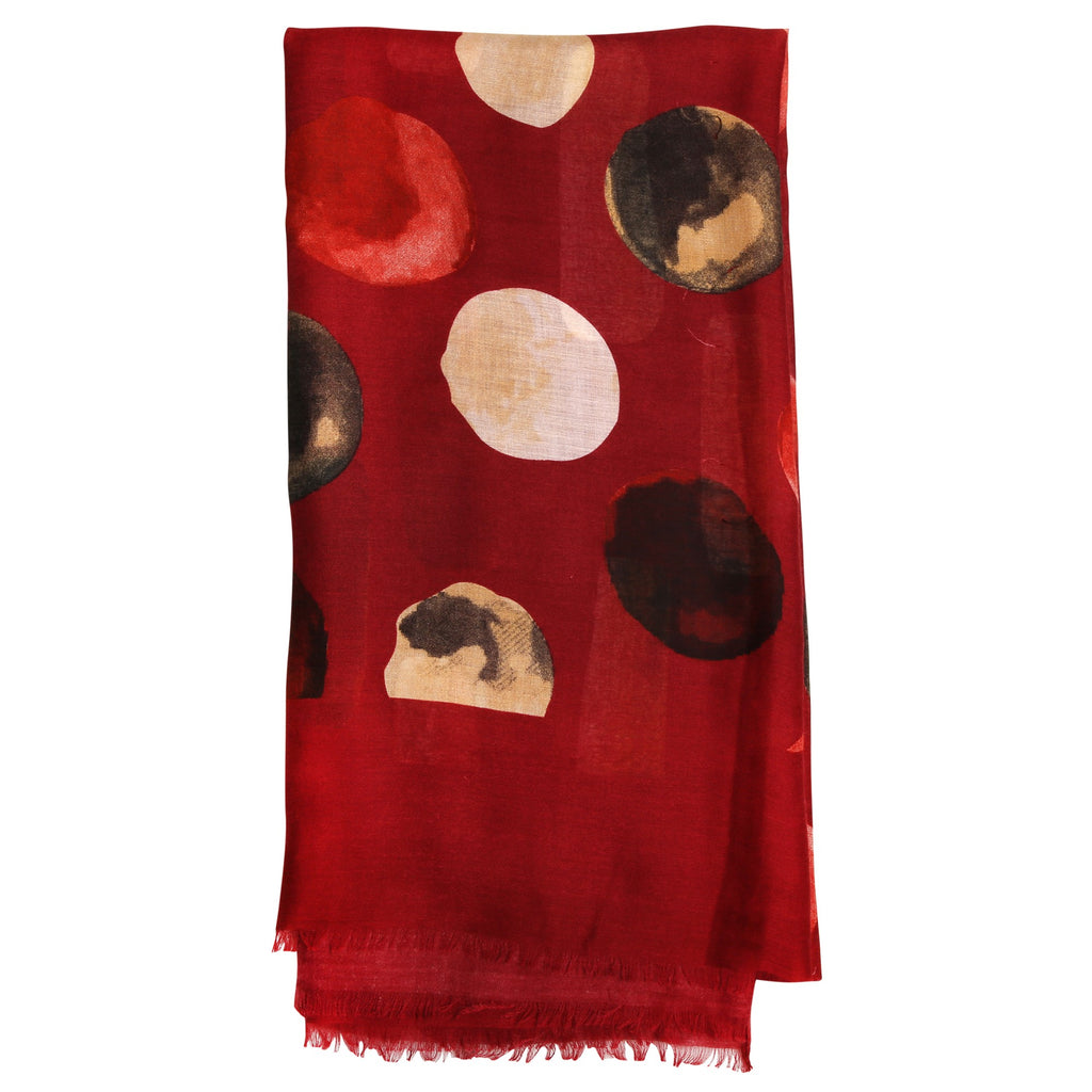 RUSSO MAROON | SCARF