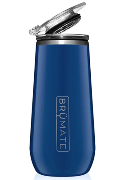 CHAMPAGNE FLUTE by BruMate | Royal Blue